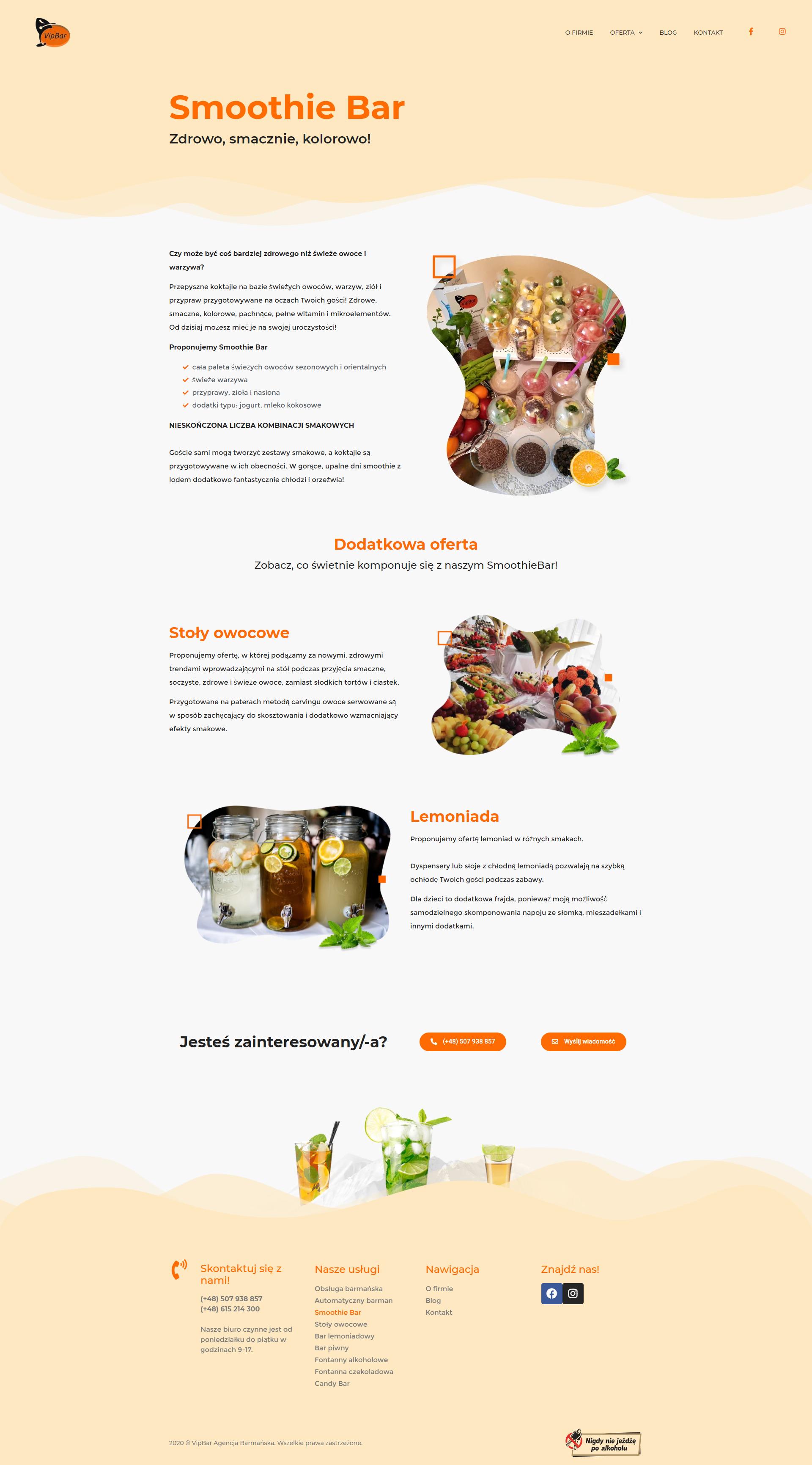 wizualizacja strony internetowej
