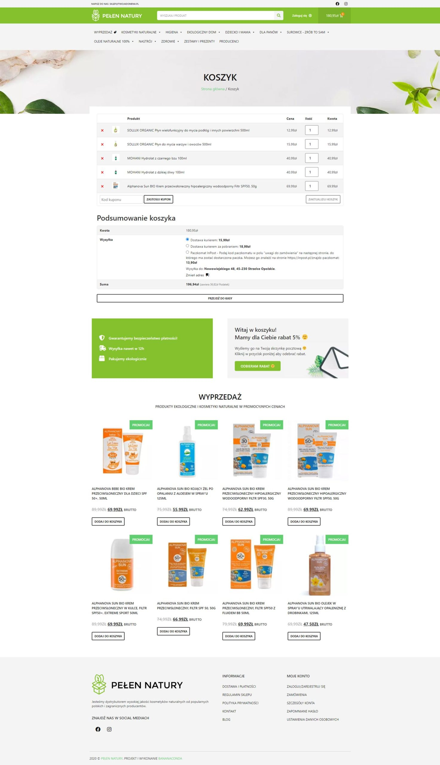 wizualizacja sklepu internetowego