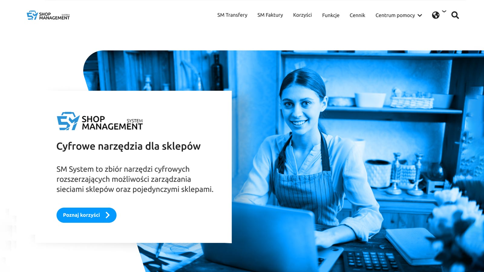 system zarządzania sklepem internetowym